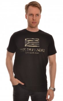 Defender - Fell Tee Army-flagga