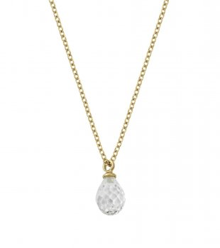 Edblad - Drop Mini Necklace Cz