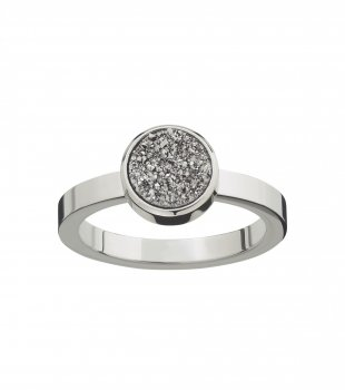 Edblad - Estelle Ring Silvery Steel