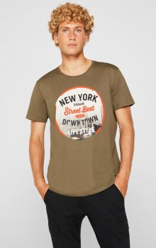 EDC - T-shirt 129CC2K006 City-print
