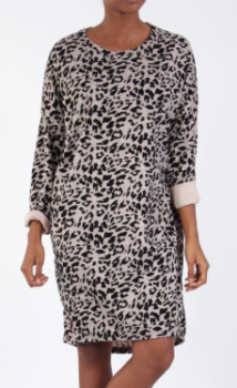 Efashion - Tunika 8665 Leopard