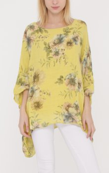 Efashion Chana - Blus H528 Blommig