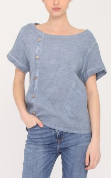 Efashion Chana - Blus L81 Knappar