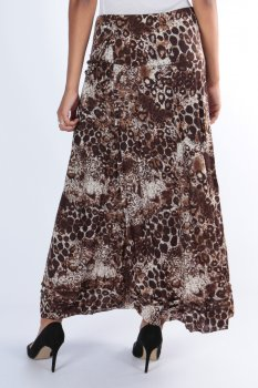 Efashion Chana - Kjol 3299 Leopard
