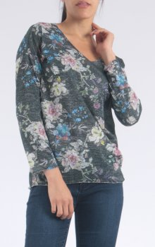 Efashion Chana - Topp P208 Blommig