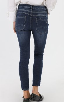 Efashion Chic - Jeans F3037 Zip vid ficka