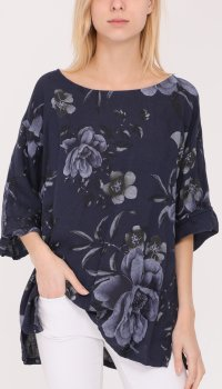 Efashion Happy - Blus 13006 Blommig