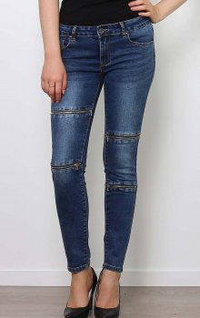 Efashion Toxik3 - Jeans L783 Zippar