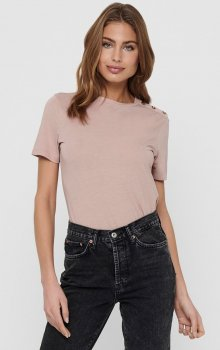 Jacqueline - jdyLondon SS Button Top
