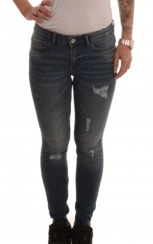 Jacqueline - jdySkinny Low Magic Destroy Ank Jeans