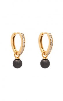 Lily and Rose - Petite Kennedy Hoops Earrings Pearl
