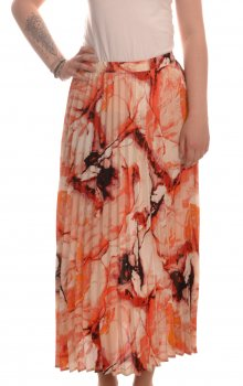 Only - onlAlma Life Poly Plisse Skirt Marble Print