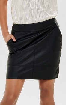 Only - onlBase Faux Leather Skirt