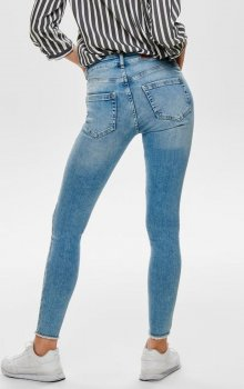 Only - onlBlush SK Ank Raw Jeans REA306