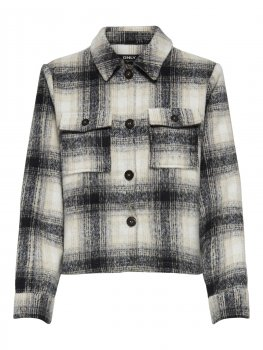 Only - onlLou Short Check Jacket