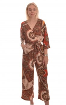 Only - onlNova Lux 3/4 Jumpsuit Flame Paisley