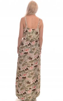 Only - onlNova Lux Maxi Dress Botanic Leaf