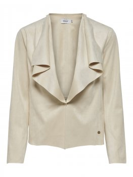 Only - onlStacy Drapy Faux Suede Jacket