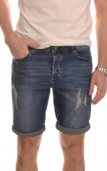 Only & Sons - onsAvi Damage Shorts Blue 2958