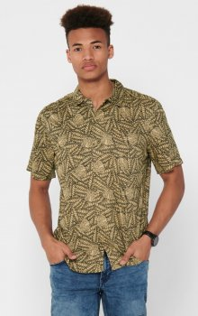 Only & Sons - onsGabrial SS Animal Viscose Shirt