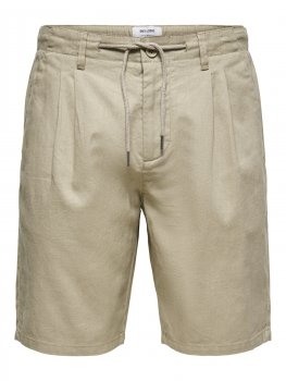 Only & Sons - onsLeo Shorts Linen Mix 9201
