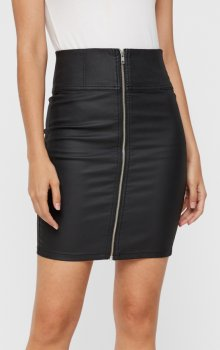 Pieces - pcIvy HW Pencil Skirt Coated