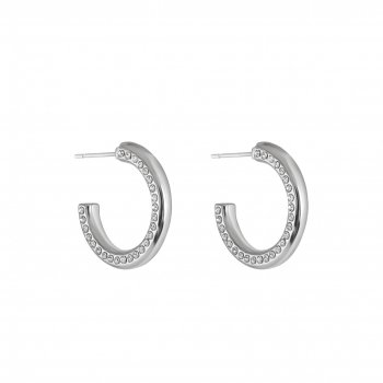 Snö - Adara Small Oval Ear S/Clear