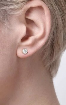 Snö - Pi Stone Ear 6mm s/clear