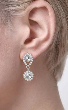 Snö - Swire Small Ear s/clear