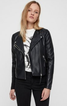 Vero Moda - vmRia Short Faux Leather Jacket