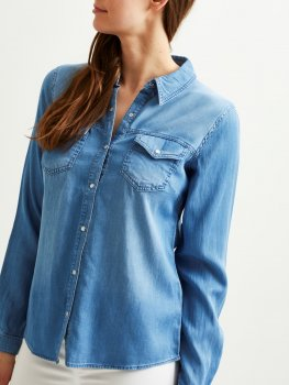 Vila - Vibista Denim Shirt