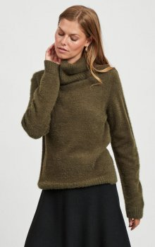 Vila - Vifeami Rollneck Knit Top