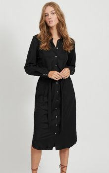 Vila - Visafina Midi LS Dress