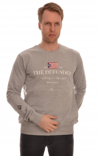 Defender - Clean Sweat Flaggprint