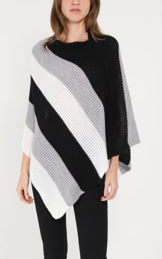 Efashion Chana - Poncho P53 Randig