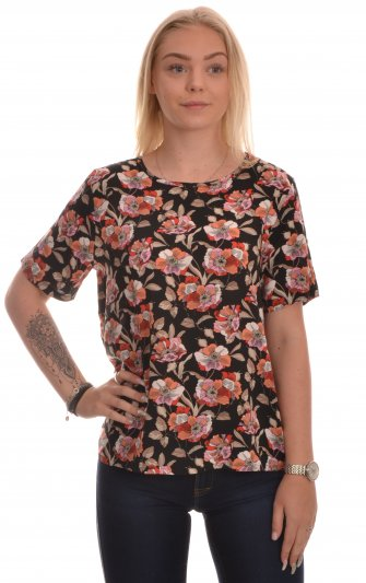 Jacqueline - jdyStarr Life SS Top Etruscan Red