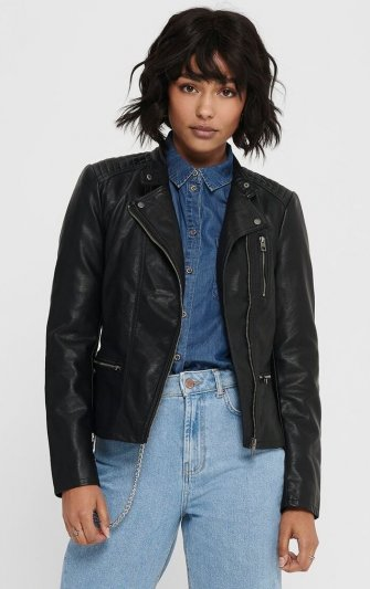 Only - onlFreya Faux Leather Biker