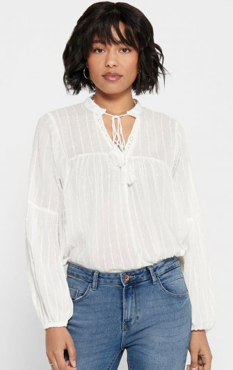 Only - onlNew Elisa Stripe Dot Blouse