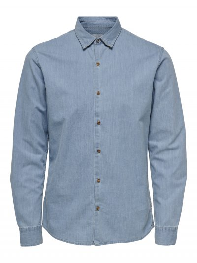Only & Sons - onsAsk Chambray Shirt
