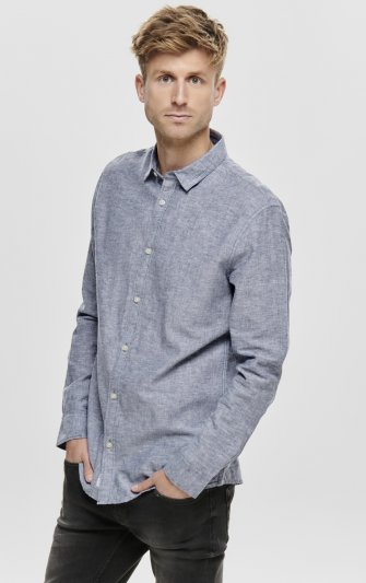 Only & Sons - onsCaiden Linen Shirt