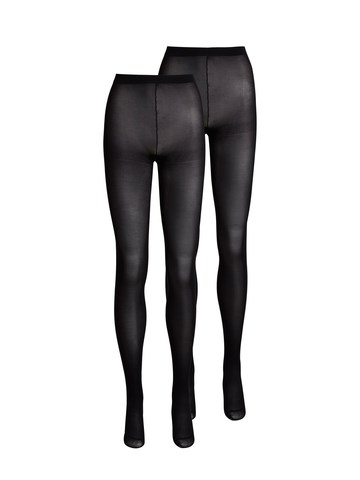 Pieces - pcNew Nikoline 40 DEN 2 Pack Tights