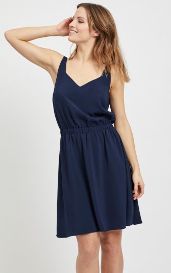 Vila - Vilaia SL V-neck Dress